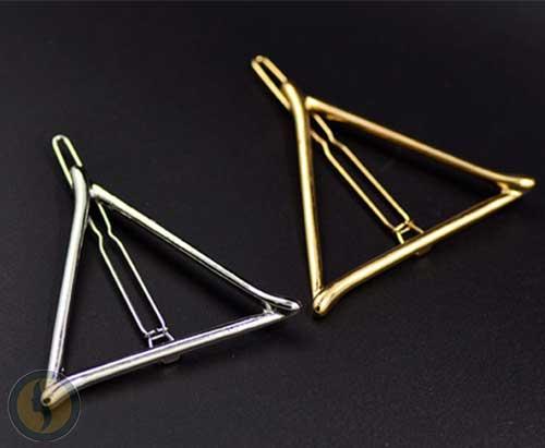 Barrette triangle